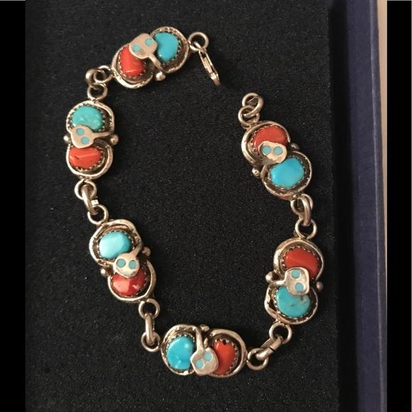 native american indian sterling Jewelry - Bracelet